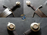 Sword Pommel Marker Decor