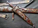 Collin Millers Dragonslayer Companion Dagger Scabbard
